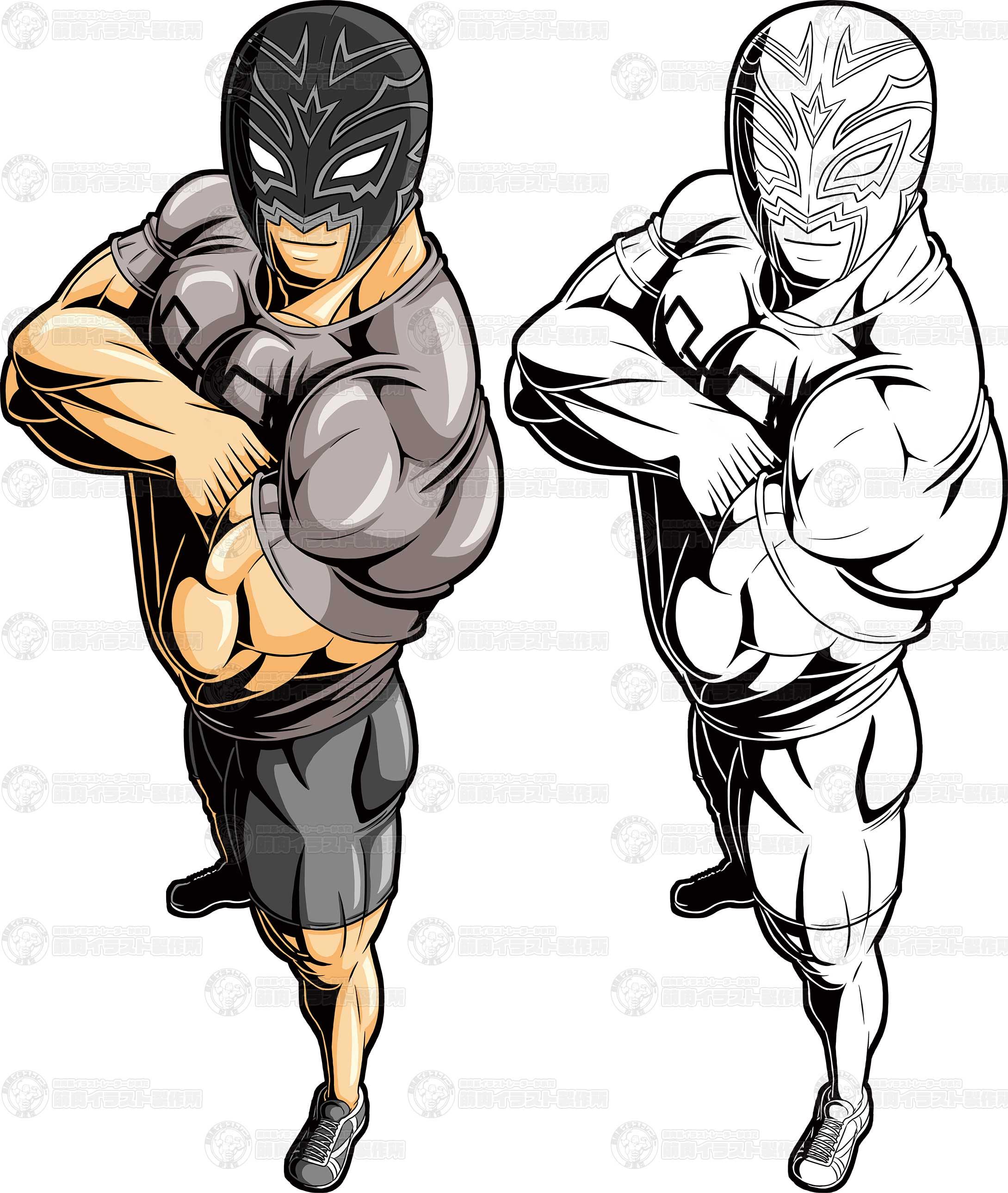 フィッシャーマン式_筋トレ以前の筋肉の常識_表紙イラスト