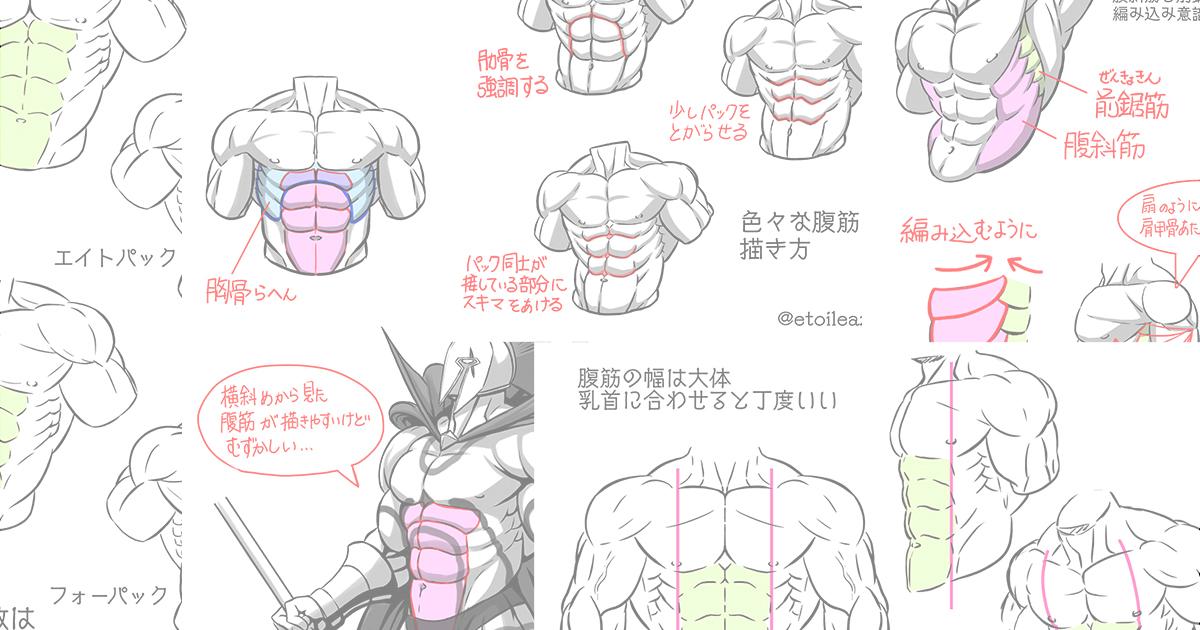 Twitter筋肉ネタシリーズ『腹筋』